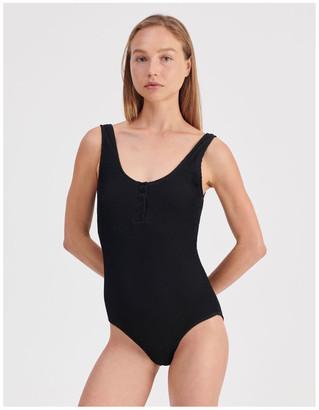 Miss Shop Henley Swimsuit