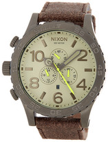 Nixon Men&s 51-30 Chrono Strap Watch
