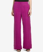 Lauren Ralph Lauren Charmeuse Wide-Leg Pants