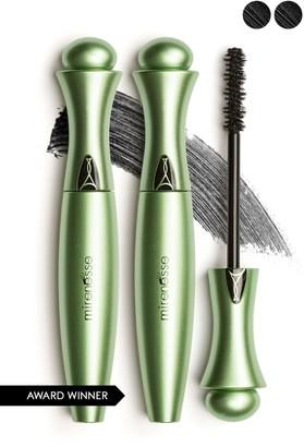Mirenesse Organic Secret Weapon 24-Hour Mascara - Black - Set of 2