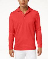 Tasso Elba Men's Long-Sleeve Polo, Only at Macy's