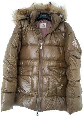 Pyrenex Camel Polyester Coats