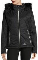 Trespass Jolie Waterproof Faux Fur Jacket