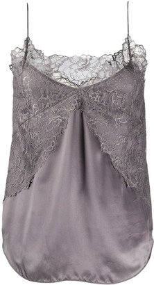 IRO Lace-Embroidered Camisole Top