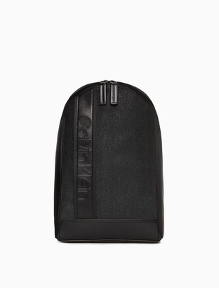 Calvin Klein Bartley Micro Texture Sling Backpack