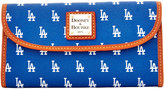 Dooney & Bourke Los Angeles Dodgers Large Continental Clutch