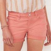Lauren Conrad Women's Cuffed Jean Shorts