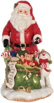 Fitz & Floyd Santa & Mr. Bingle Figurine