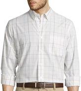 Dockers Long-Sleeve Patterned Sportshirt
