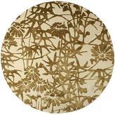 Emma Gardner - bamboo blossom circular rugs by emma gardner