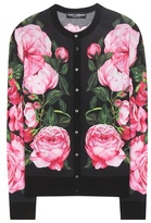 Dolce & Gabbana Floral-printed Cashmere And Silk Cardigan