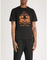 Evisu Baby Godhead printed cotton-jersey T-shirt