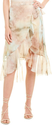Allison Tie-Dye Wrap Skirt