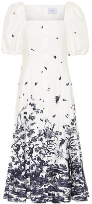 Erdem Mariona printed cotton dress