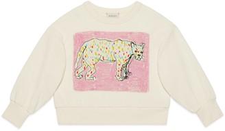 Gucci Children's Isabella Cotier print cotton sweatshirt