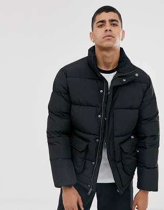 Dickies Olaton puffer jacket in black