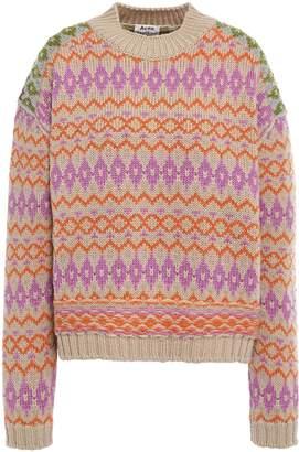 Acne Studios Wool-jacquard Sweater