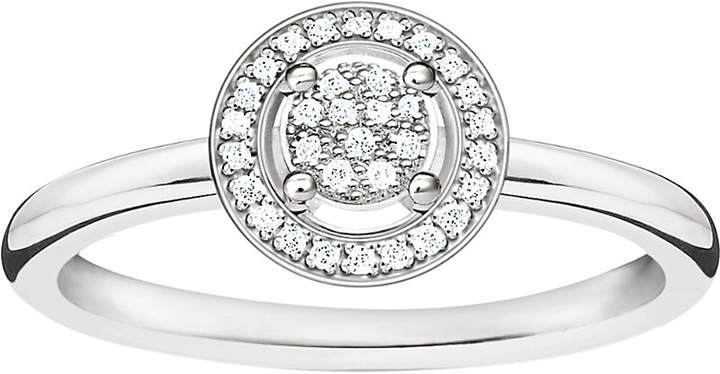 Thomas Sabo Glam & Soul sterling silver diamond ring