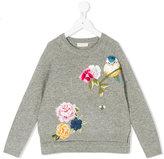 MonnaLisa floral embroidered jumper