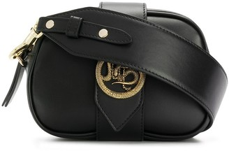 Just Cavalli Dragon Buckle Shoulder Bag