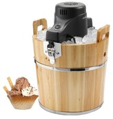 Sunbeam 4 Qt. Ice Cream Wooden Bucket - FRSBWDBK