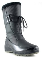 Aquatherm By Santana Canada Women's Abigail Lace Front Winter Boots - Black
