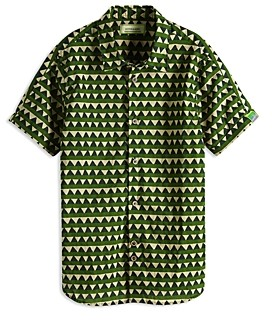 Scotch Shrunk Boys' Printed Button-Down Shirt - Little Kid, Big Kid