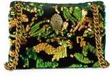 Kurt Geiger London Kensington Sequin Velvet Crossbody Bag