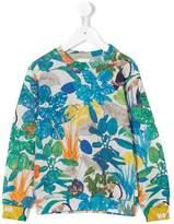 Paul Smith jungle print sweatshirt