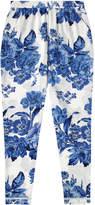 Cath Kidston Porchester Rose Mono Trousers