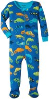 Hatley Crazy Chameleons Footed Coveralls (Baby) - Blue - 18-24 Months