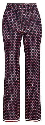 Gucci Women's Geometric G Iconic Boot Cut Trousers