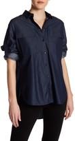 Tibi Neo Twill Utility Shirt