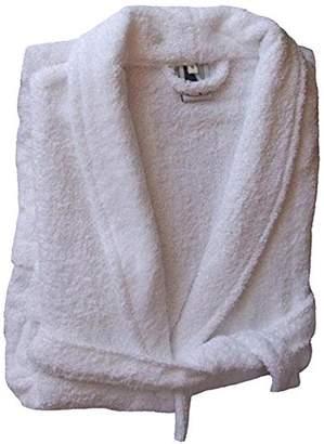 Home Basic Kids – Hooded children bathrobe, size 2 years, color White