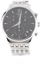 Tissot Men's Stainless Steel Quartz Chronograph Gray Dial Date Display [Watch]