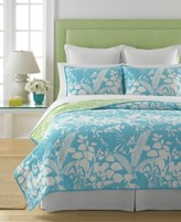 Martha Stewart Collection Collection Cotton Paradise Palm King Quilt