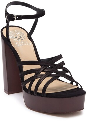 Vince Camuto Larriss Strappy Block Heel Sandal