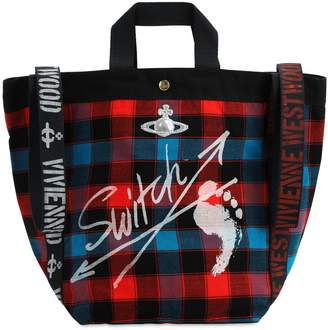 Vivienne Westwood SWITCH RUNNER HOLD ALL TOTE BAG