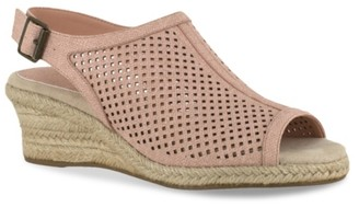 Easy Street Shoes Stacy Espadrille Wedge Sandal