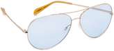 Oliver Peoples Sayer Aviator Sunglasses