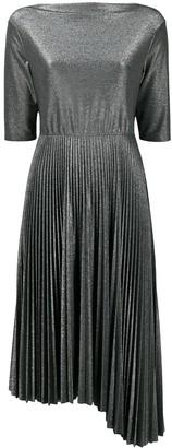 Fabiana Filippi metallic pleated dress