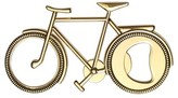 Thirstystone Gold Tone Bicycle Bottle Opener