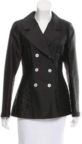 Dolce & Gabbana Embellished Silk Blazer