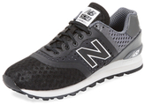 New Balance 574 Perforated Mesh Trainer Sneaker