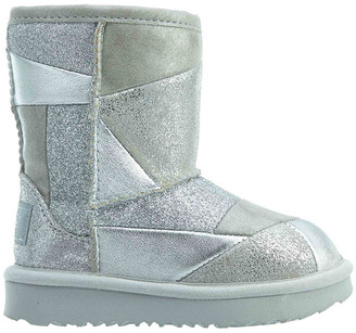 UGG Classic Short Ii Patchwork Leather Boot