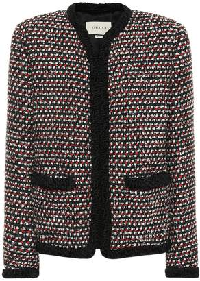 Gucci Sequined tweed jacket
