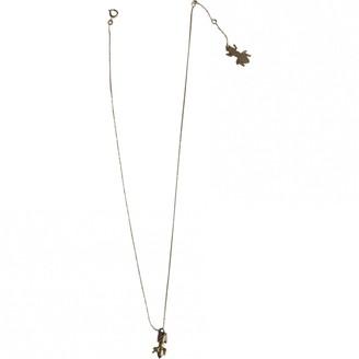 Les Nereides Gold Metal Necklaces