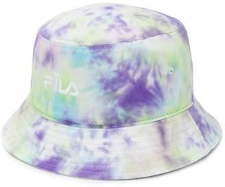 Fila tie-dye print bucket hat