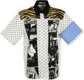 Prada Comic-print Polo Shirt