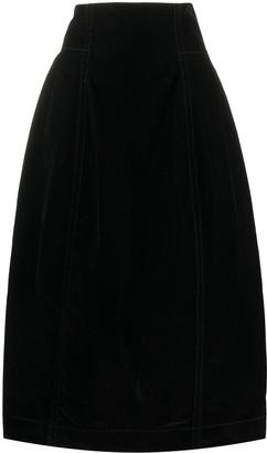 Marni High-Waisted Mid-Length Skirt